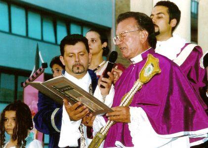 Il Magister Nundinarum legge il suo editto