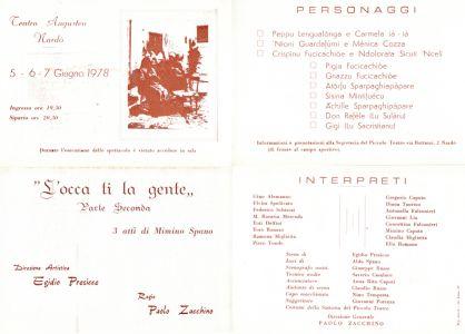 Depliant 1978