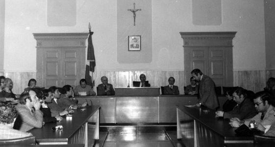 Sala Consiliare - Nardò Costituzione 17 Novembre 1974