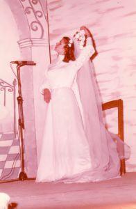 Adele Siciliano nella parte di Teresina 1980